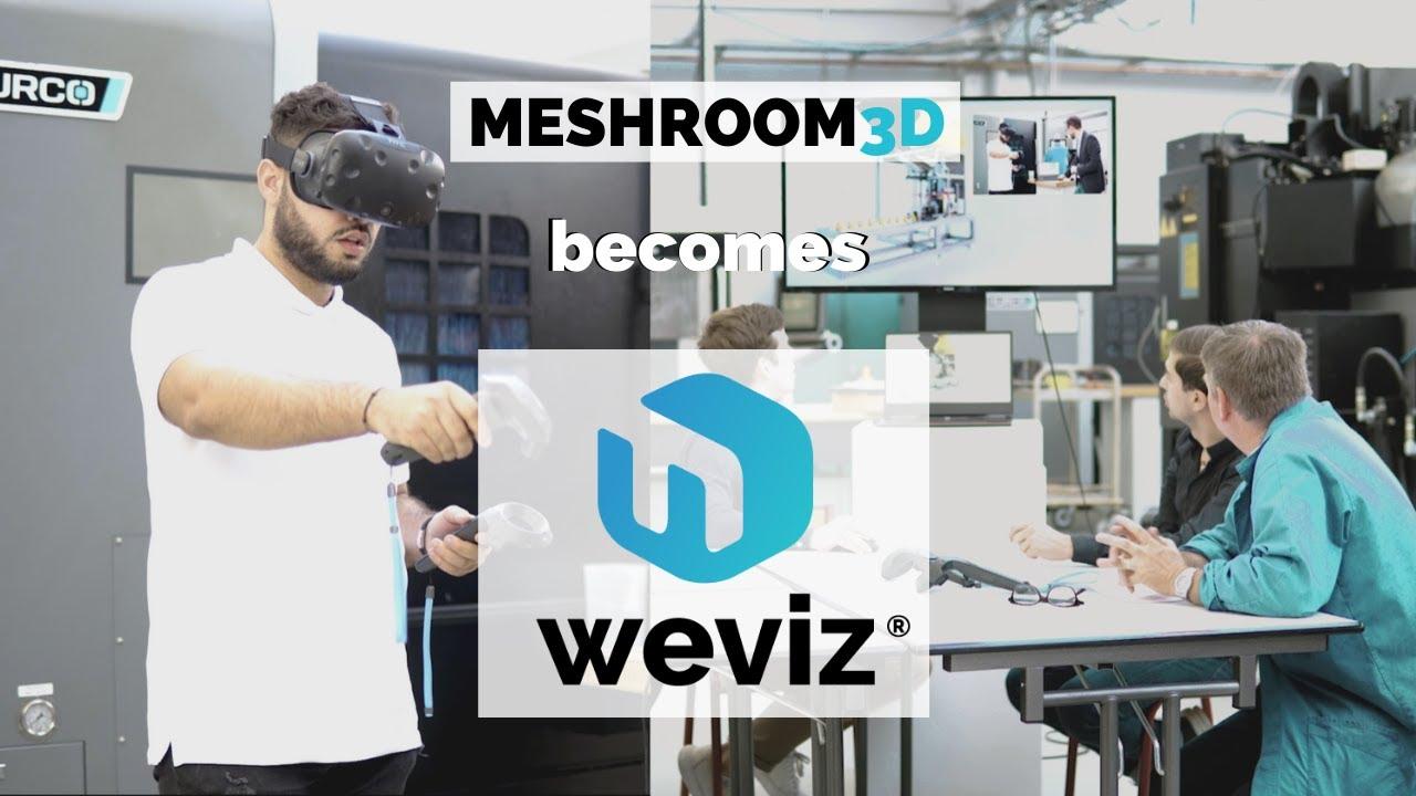 Minitarure Vidéo Meshroom becomes Weviz