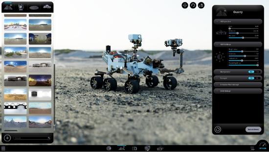 HDR Environments feature Weviz Studio